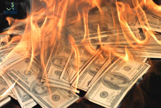 سحر الكيمياء الورقة النقدية التي لا تحترق