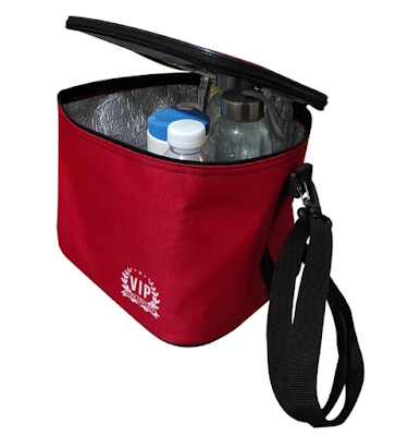 VIP Kırmızı Soğuk Tutucu Termos Çanta