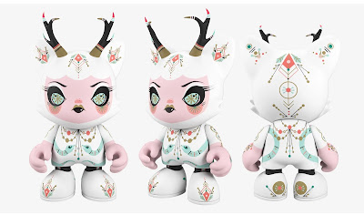 Frostbite Fauna SuperJanky Vinyl Figure by Julie West x Superplastic