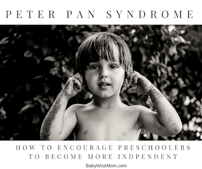 Peter Pan Syndrome and Three Year Olds