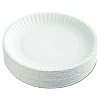 Image of paper plates used for exercising.