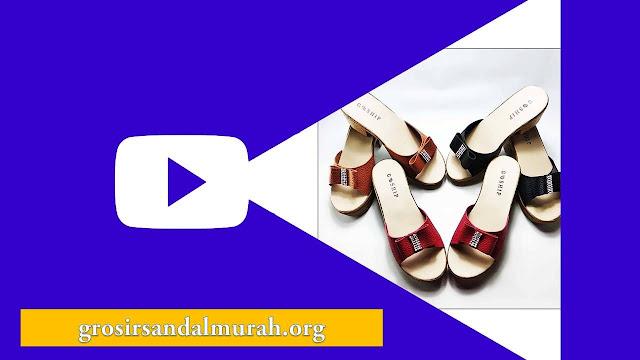 Grosirsandalmurah.org-Sandal Wedges-Hak Wedges Wanita ELF