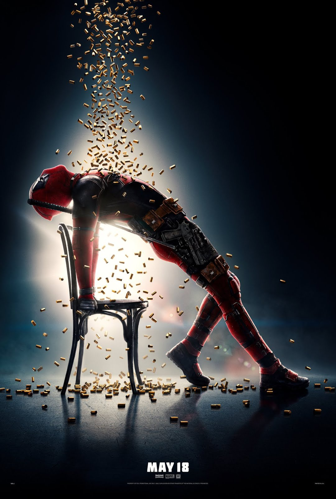 Deadpool 2 (2018) Hindi Dubbed 720p HDCAM-Rip x264 1GB