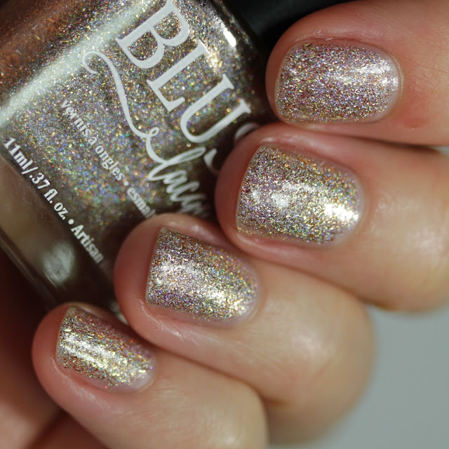 BLUSH Lacquers The Mouse King swatch by Streets Ahead Style