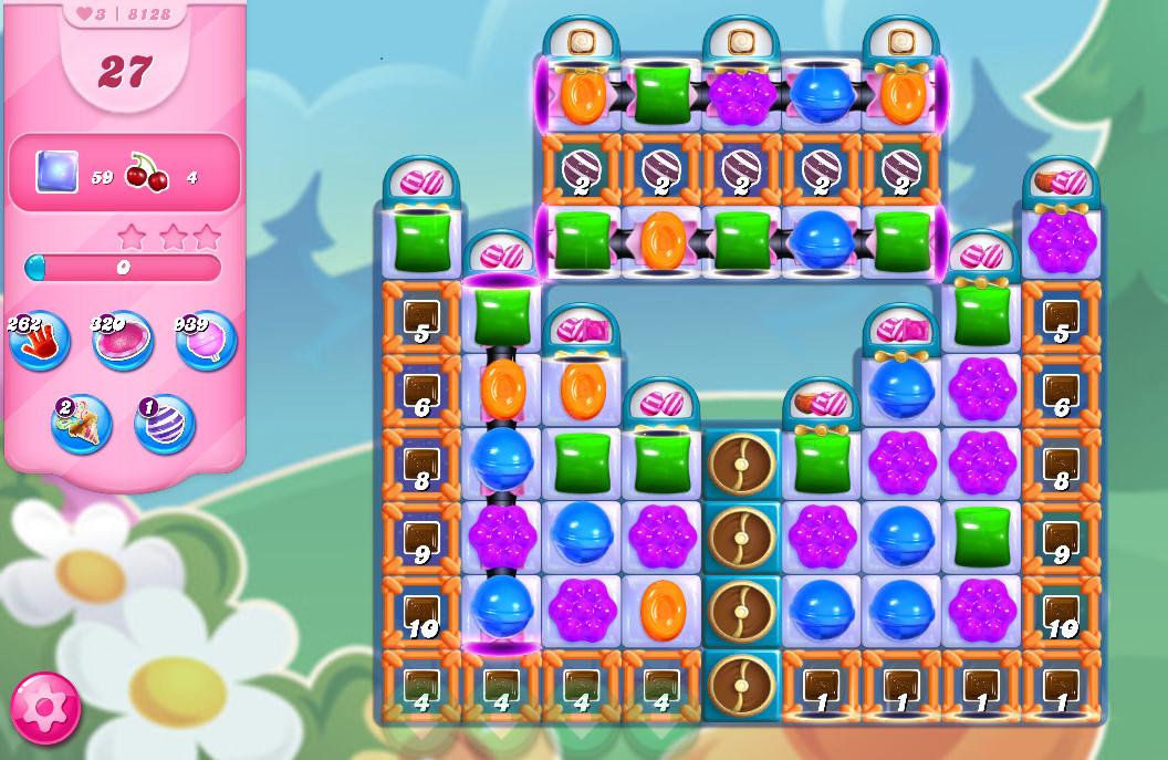 Candy Crush Saga level 8128