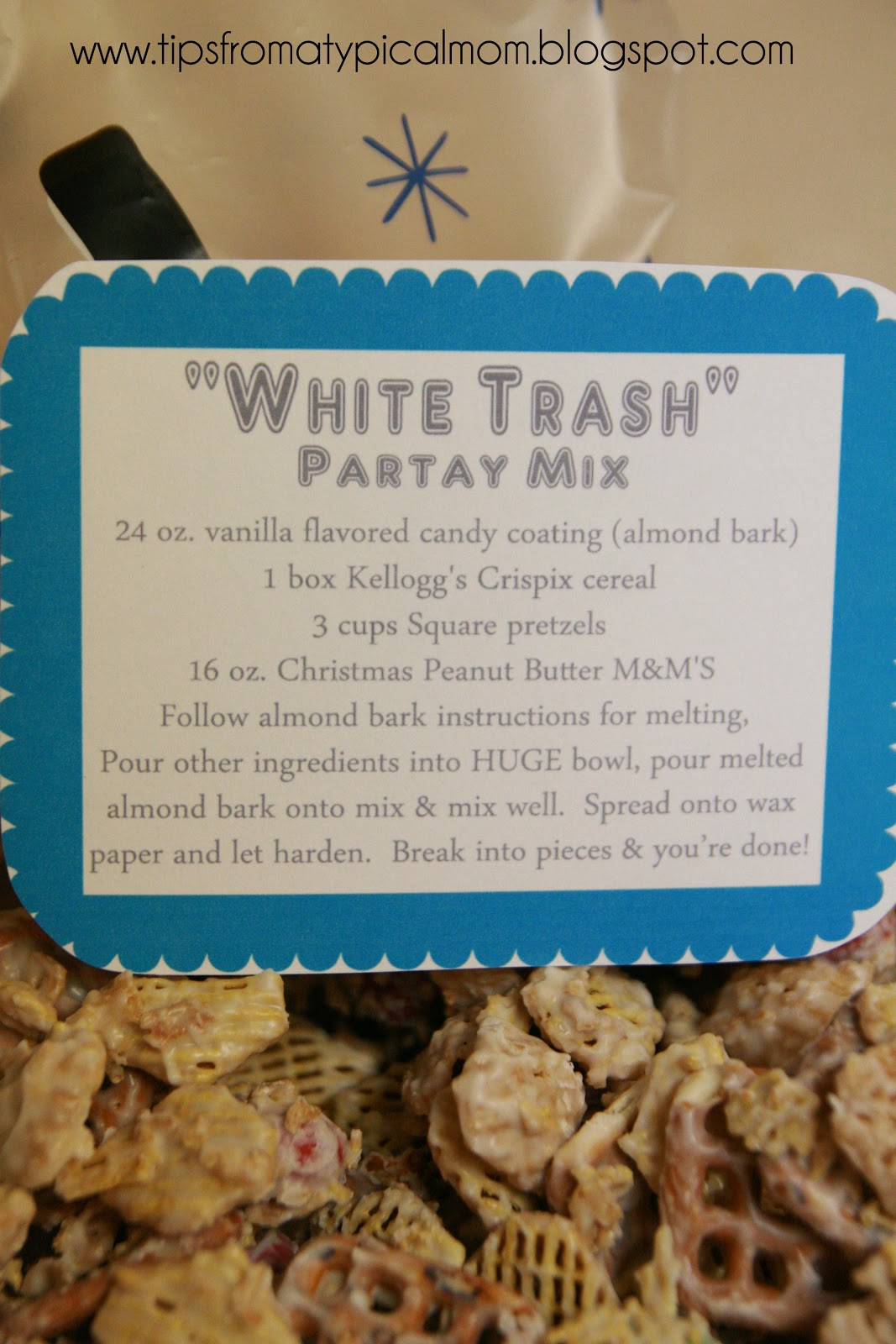 White Trash Christmas Party Mix Recipe And Free
