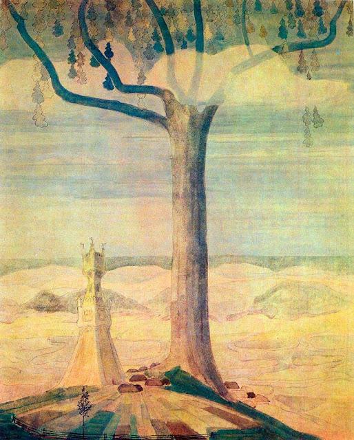 Чюрлёнис Микалоюс Константинас - Анданте (Соната лета). 1908