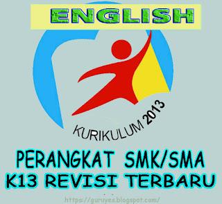 Free Download RPP K13 Bahasa Inggris Kelas 12 SMA Revisi 2017