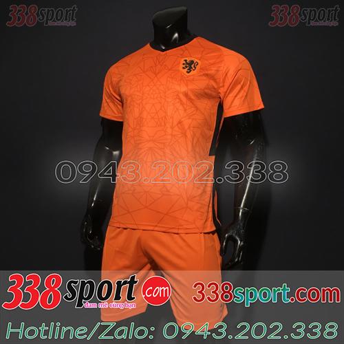 Áo Đội Tuyển Hà Lan 2020 Sân Nhà Màu Cam