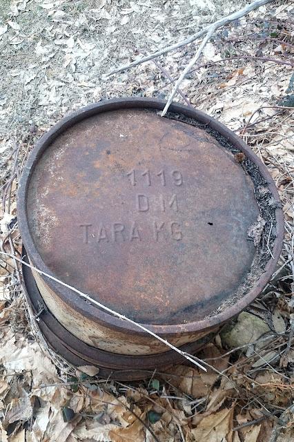 bidone benzina fusto 200 litri seconda guerra mondiale tara kg Re regio esercito
