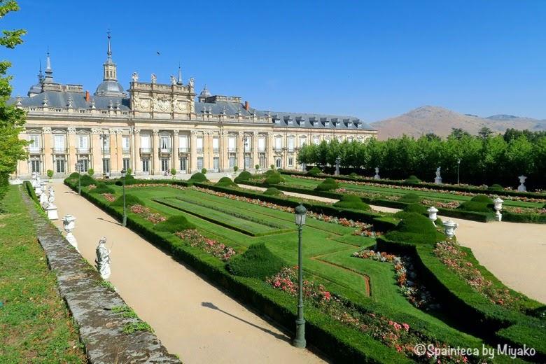 La Granja de San Ildefonso セゴビアのラ·グランハ·デ·サン·イルデフォンソ宮殿と庭園