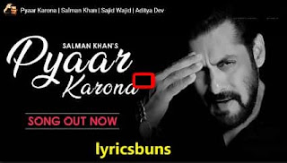Pyaar-Karona- Salman-Khan-Sajid-Wajid-Aditya-Dev