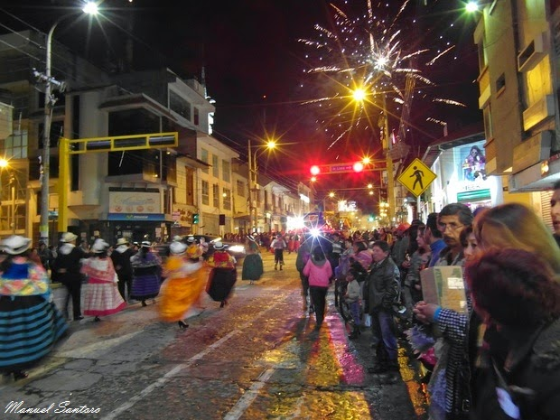 Huancayo, sfilata per il centenario del Colegio Andino