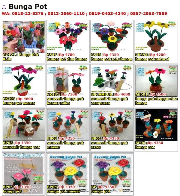 Daftar Harga Bunga Pot