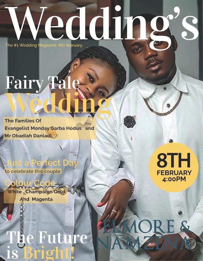 WEDDING INVITATION OF ELMORE & NAMZENA