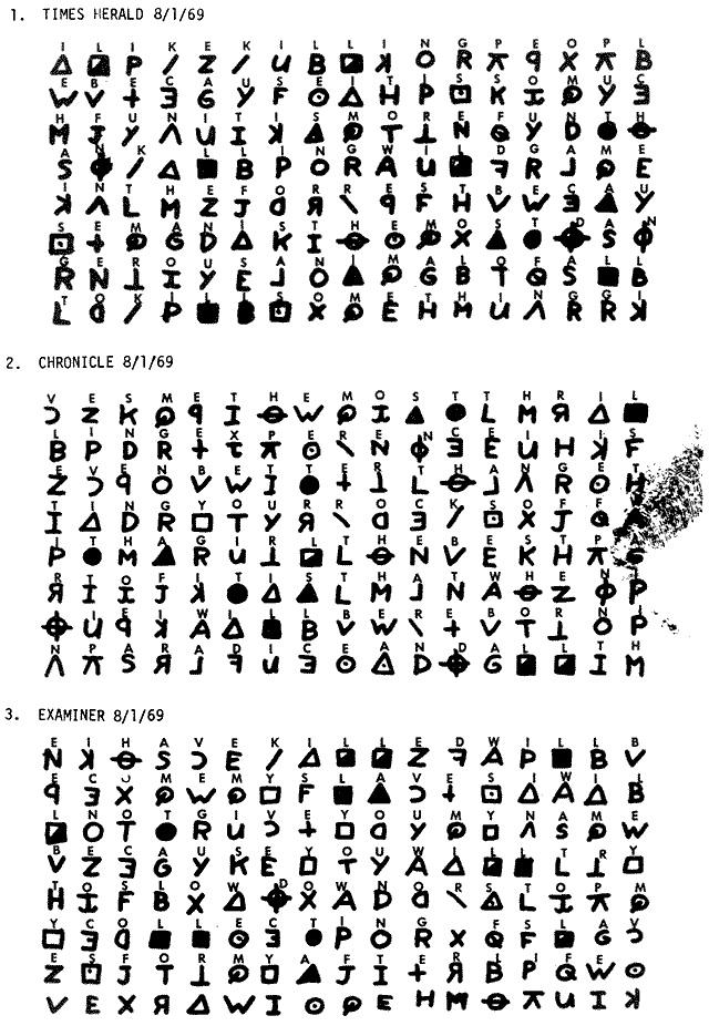 Kode misteri pembunuhan 'zodiac killer' terpecahkan usai setengah abad. Zodiac Killer - Merinding.com