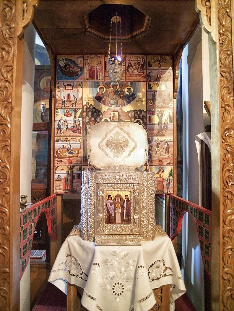 Λείψανα της Ιεράς Μονής Αγίων Ραφαήλ, Νικολάου και Ειρήνης, Γρίβας http://leipsanothiki.blogspot.be/
