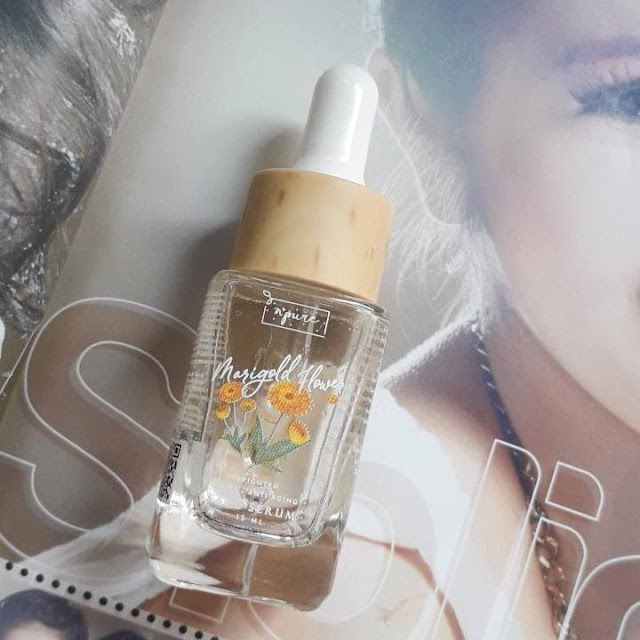 N'Pure Marigold Flower Face Serum