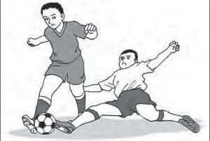 Menyapu Bola / Sliding Tackle