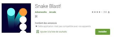 Commencez à jouer à Snake Blast maintenant
