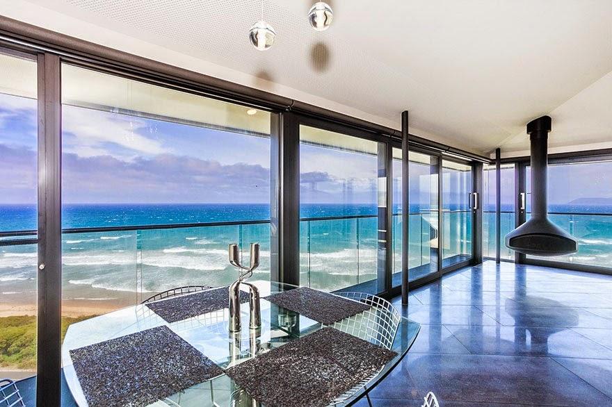 Casa de descanso en la costa de Australia