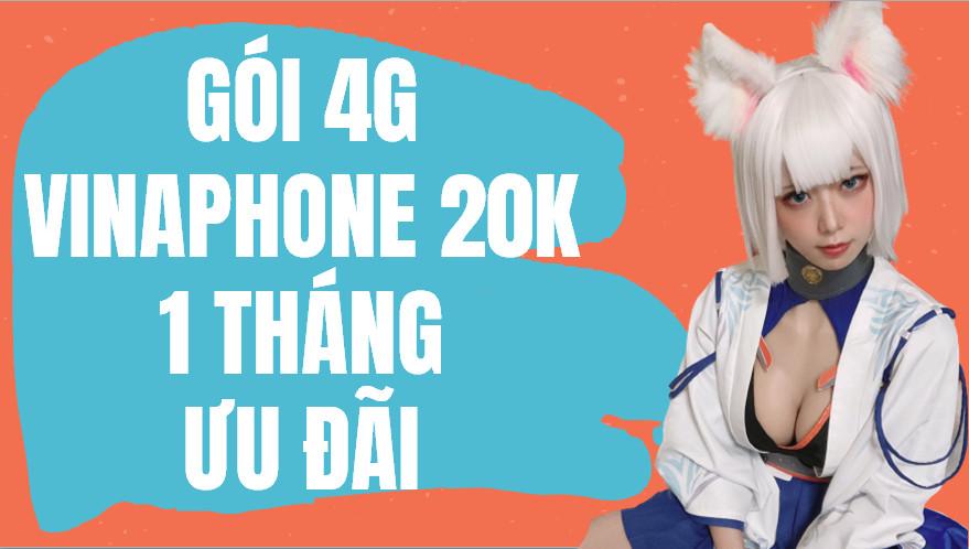 Cách đăng ký 4G Vina 20k 1 tháng