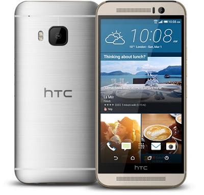 HTC One M9 sau khi đã được thay sửa màn hình cảm ứng