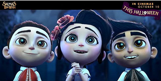 Sinopsis Film Animasi Salma's Big Wish (Dia de Muertos) 2019