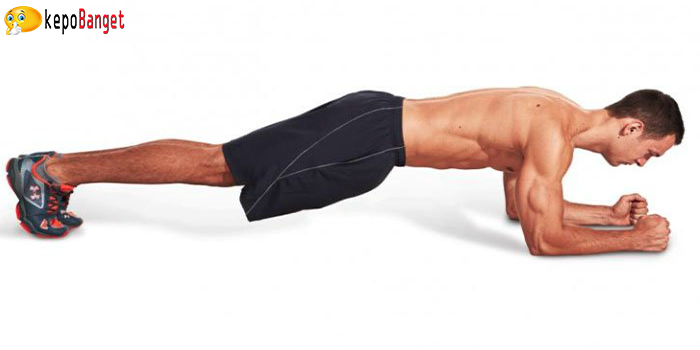 posisi plank