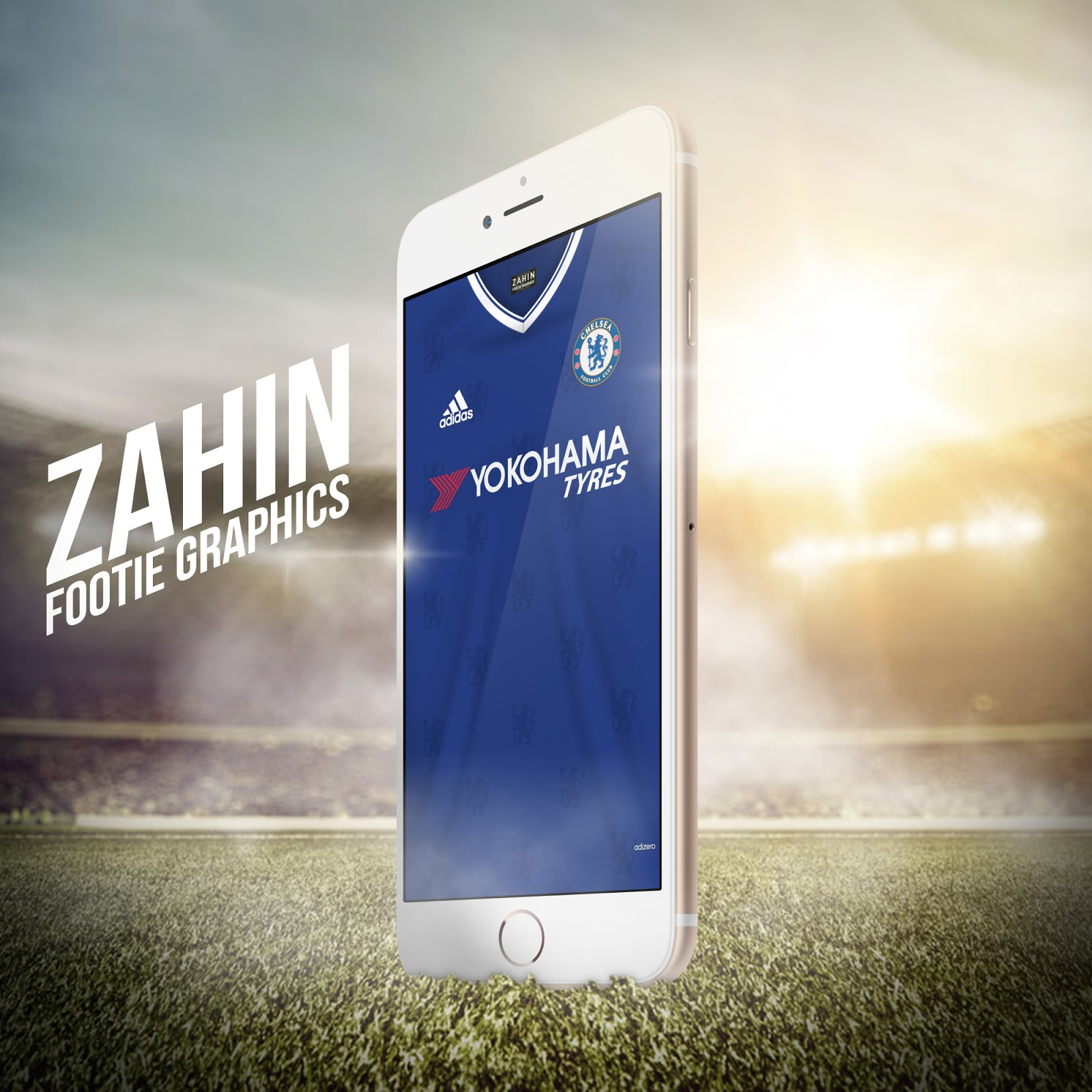 Chelsea Home 2016 17 Wallpaper For Your IPhone Android