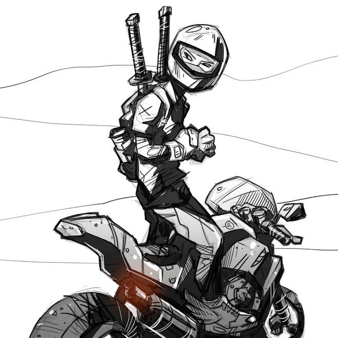 Moto Ninja by Denis Pozdnyakov