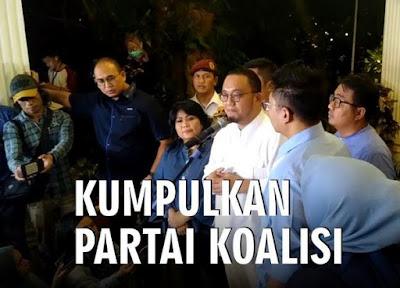 Prabowo Kumpulkan Parpol Koalisi