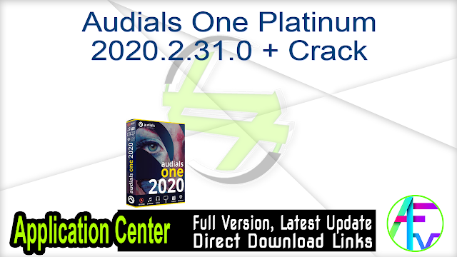 Audials One Platinum 2020.2.31.0 + Crack
