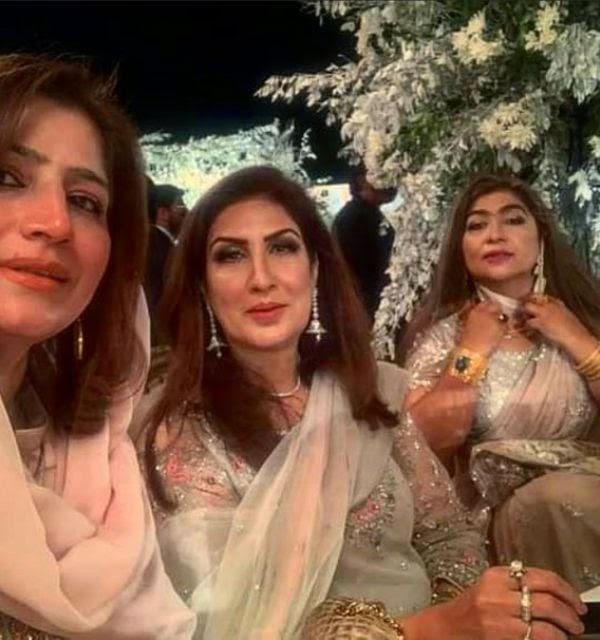 wedding pictures of Bakhtawar Bhutto Zardari