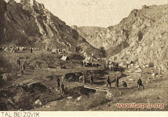 Во близина на село Зовиќ за време на ПСВ