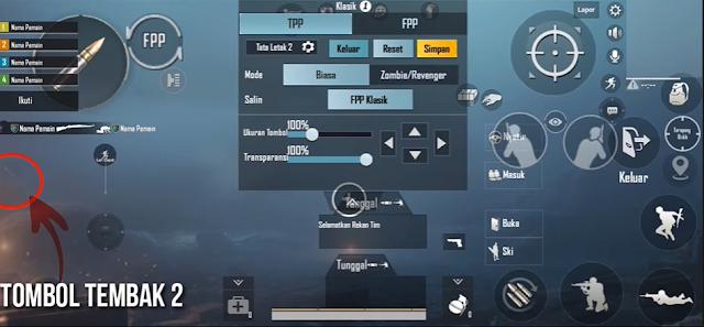 Control PUBG 4 Jari Termudah