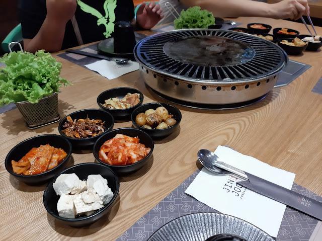 jin joo, korean, johnnyeats, unlimited, meat, bbq, pork, chicken, beef, cajun, makati, glorietta