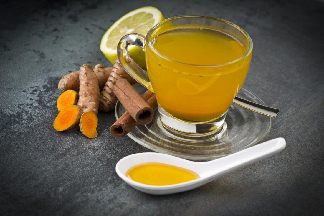 tumeric ginger lemonade tea