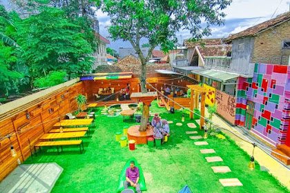 Segoro Art Rock Cafe Kediri - Review Menu, Fasilitas Lengkap & Alamat