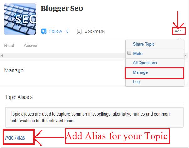 Create Alias for brand topic