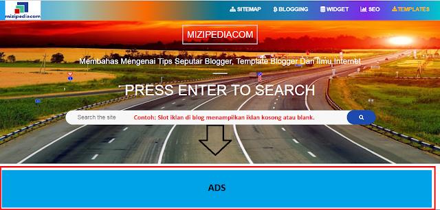 Cara Mengaktifkan Background Warna Jika Iklan Google Adsense Tidak Muncul Di Blogger