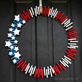 fun DIY 4th of July Wreath