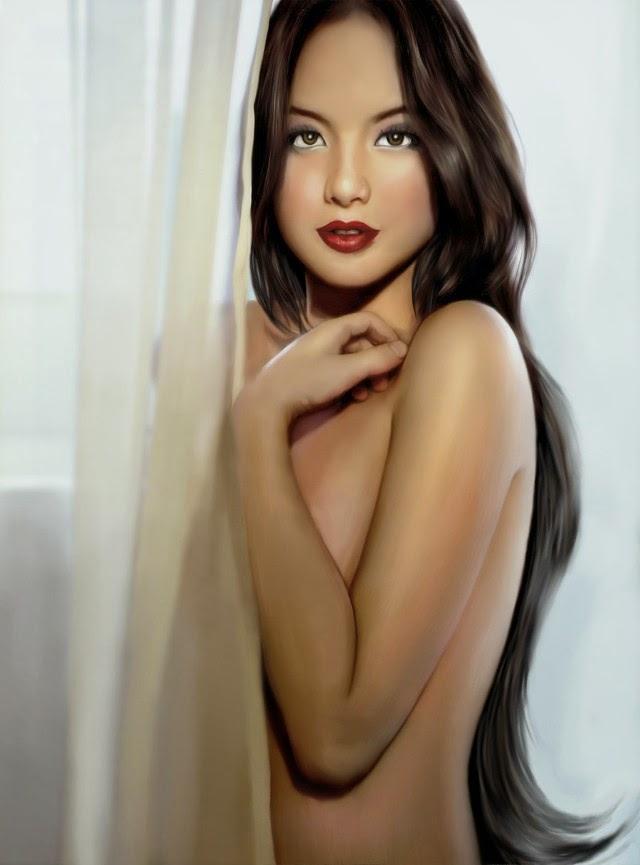Реалистичная цифровая живопись. Rico Mambo