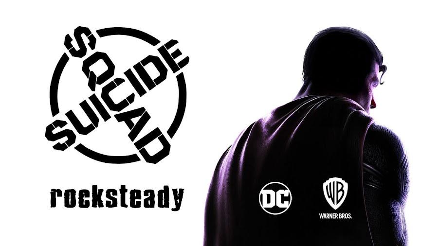 suicide squad game teased dc fandome event rocksteady studios task force x superrman warner bros wb games