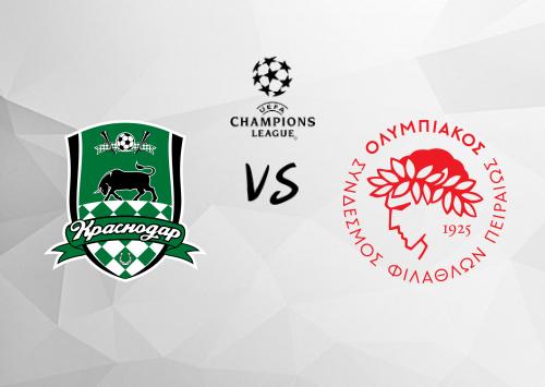 Krasnodar vs Olympiakos Piraeus  Resumen