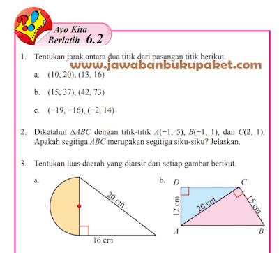 Kunci Jawaban Halaman 22 23 24 Ayo Kita Berlatih 6.2 Matematika Kelas 8 Semester 2 www.jawabanbukupaket.com