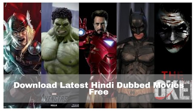 Top 20 website New Hindi Dubbed Movies Download 2019