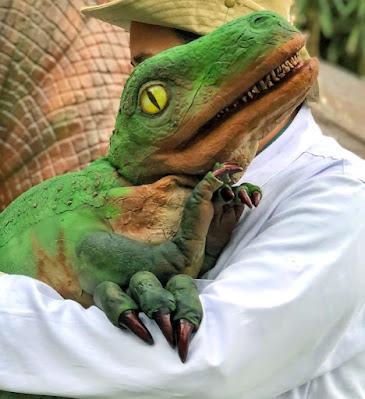 Bebê dinossauro em Pomerode