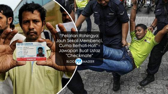 "Rohingya: Jawapan Balas Kepada Ustaz ""Checkmate"""