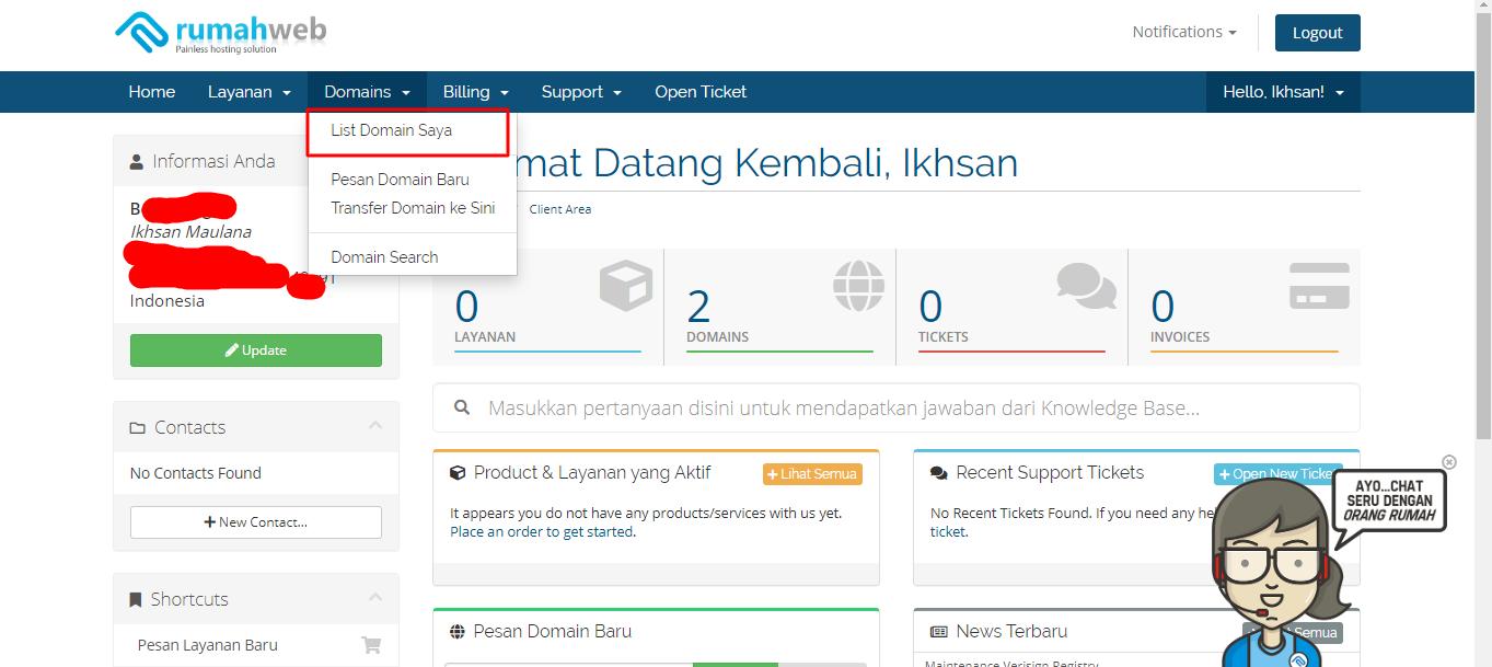 tahapan memasang cloudflare di blog - 2